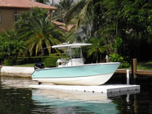 SportPort 25ft Seacraft Boat Dock