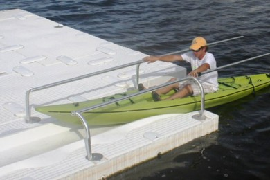 SportPort Kayak Dock with Rails